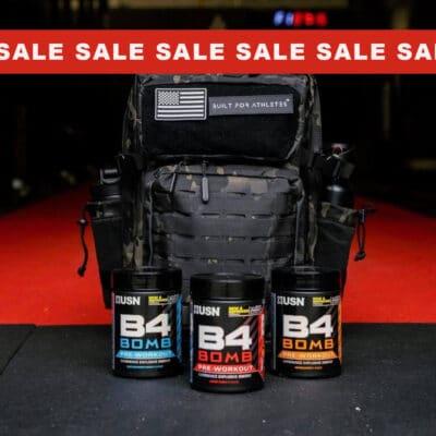 b4 sale banner